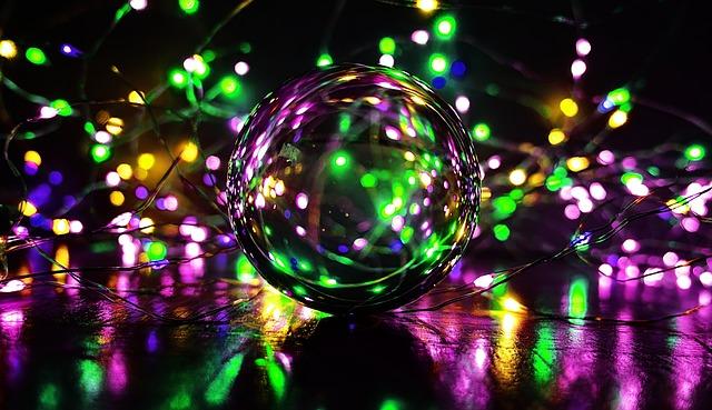 bombillas inteligentes multicolores